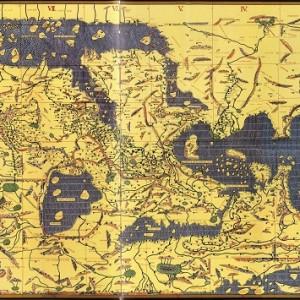 peta bumi datar