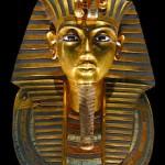 Topeng mumi Tutankhamun di Museum Mesir
