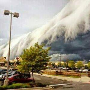 awan di virginia tanda kebesaran Allah
