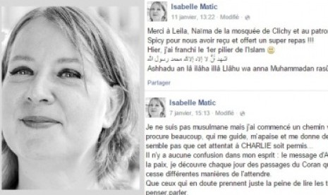 Akun Facebook Isabelle Matic