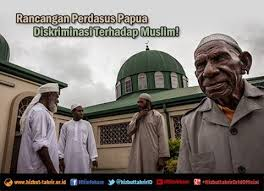 Ilustrasi diskriminasi muslim papua