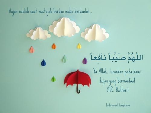 Doa Ketika Hujan