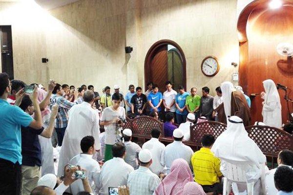 dua puluh pekerja asing filipina masuk islam di saudi