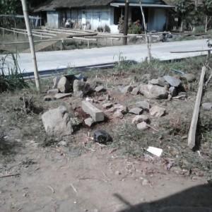 Foto lokasi yang rencananya akan dibangun musholla