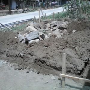 Foto terkait perkembangan pembangunan mushalla dusun Puyang