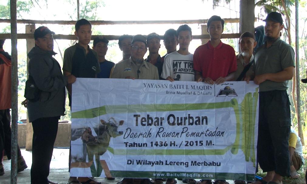 Lokasi Tebar Qurban Kec. Getasan - Semarang