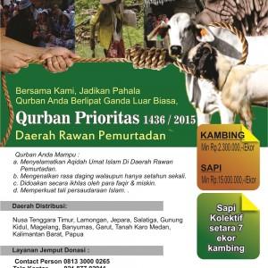 Brosur Qurban Prioritas