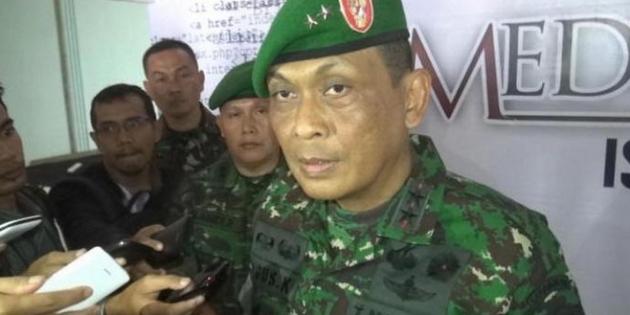 Pangdam Iskandar Muda memberikan pernyataan terkait kasus di Aceh Singkil