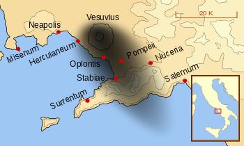 Pompeii azab Allah atas mereka