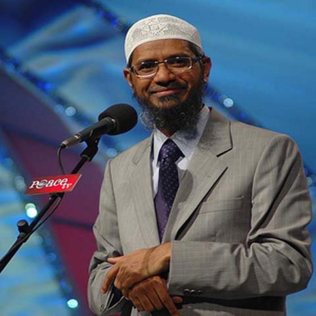 Dr.Zakir Naik dalam salah satu forum diskusinya