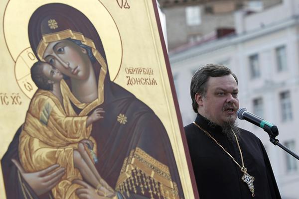 Uskup Agung Vsevolod Chaplin gereja Ortodoks Rusia