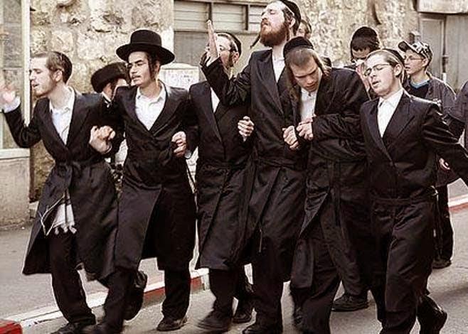 Potret bangsa Yahudi.