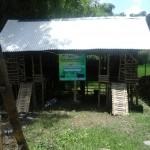 Foto kandang bantuan kambing YBM