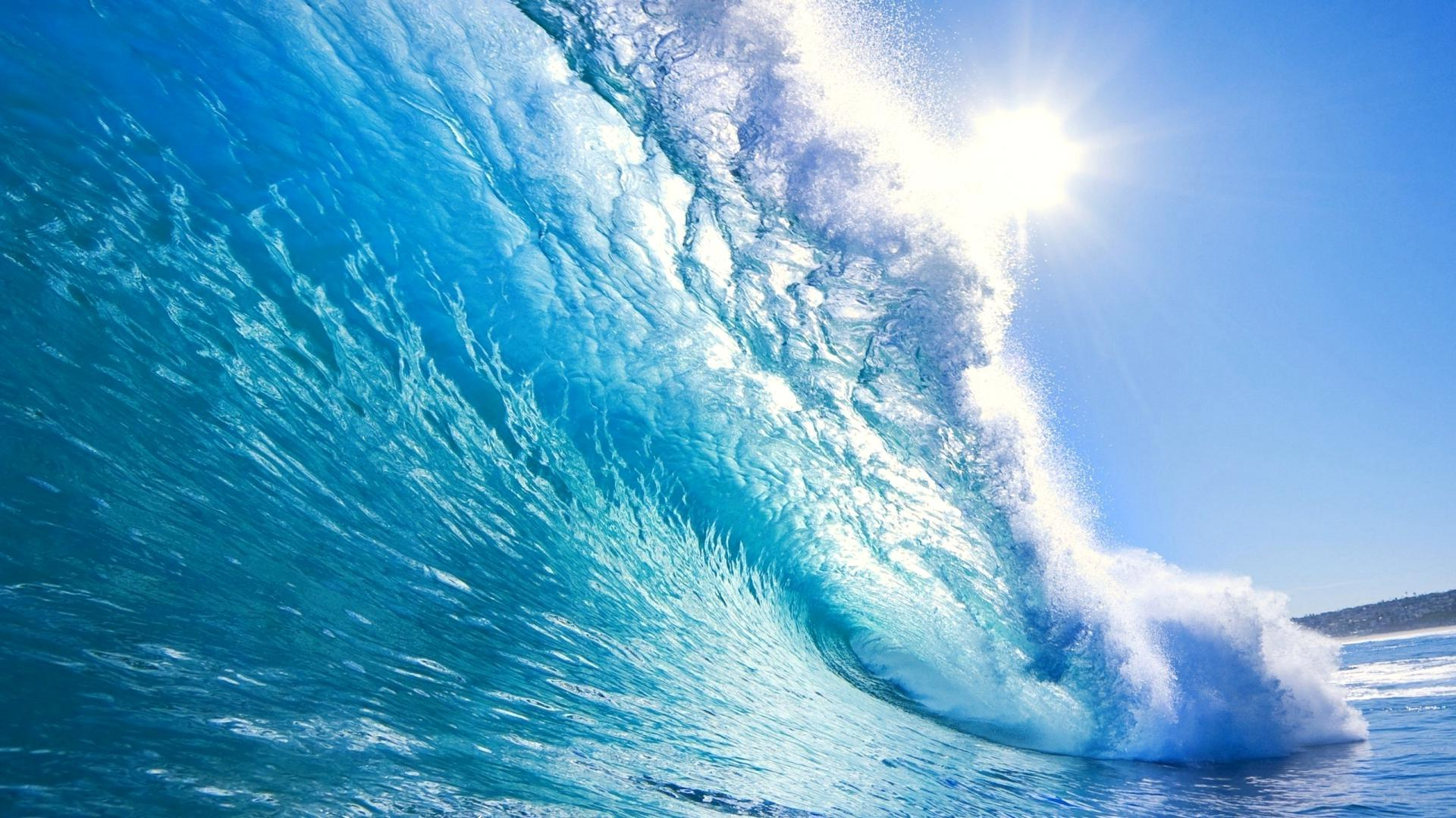 Ilustrasi: crystal blue waves