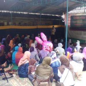Suasana tabligh akbar yang diselenggarakan oleh YBM di Wates, Kulon Progo.