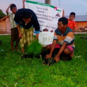 Program penyaluran aqiqah di daerah rawan pemurtadan.