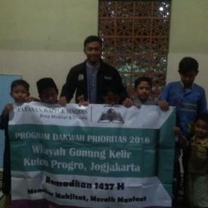 Dakwah Prioritas YBM Gunung Kelir, Kulon Progo Ramadhan 1437 H.
