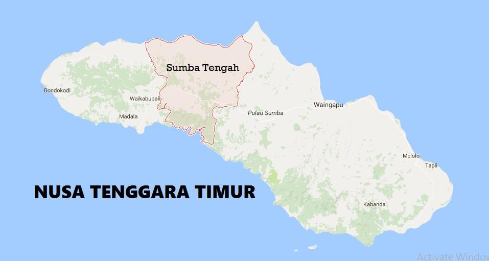 Peta NTT - Sumba Tengah