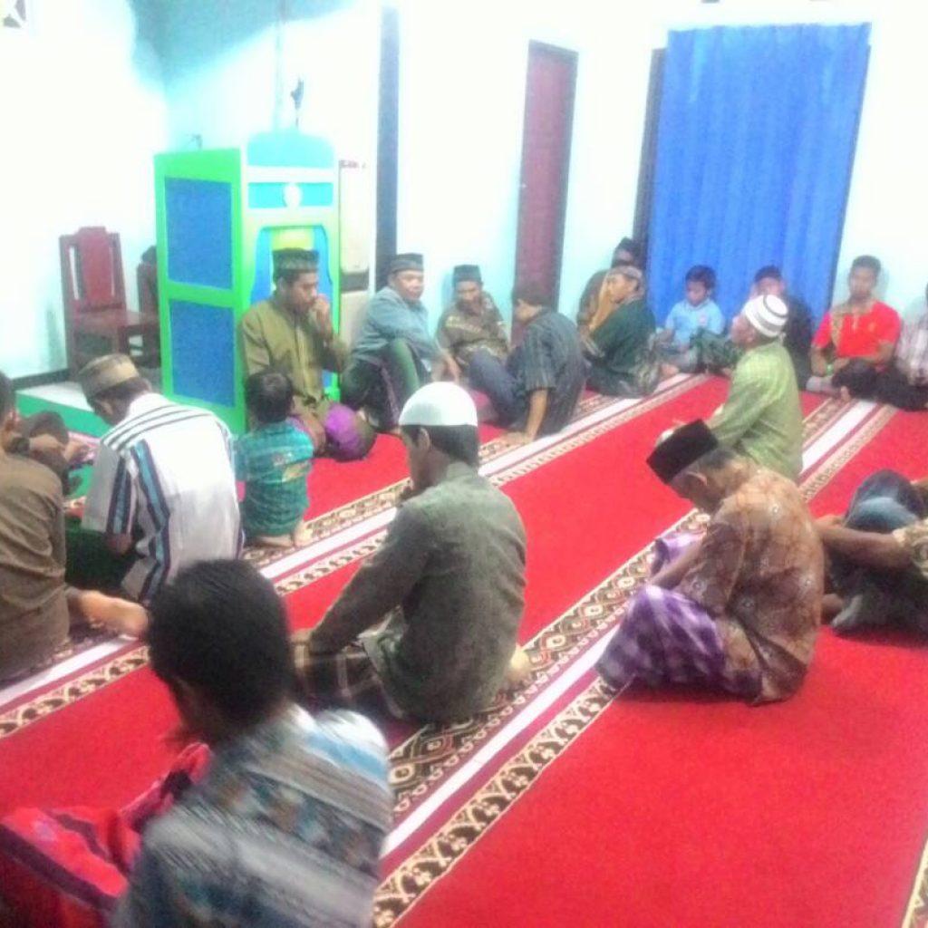 Suasana Kultum Ketika Tarawih di Masjid At Taubah