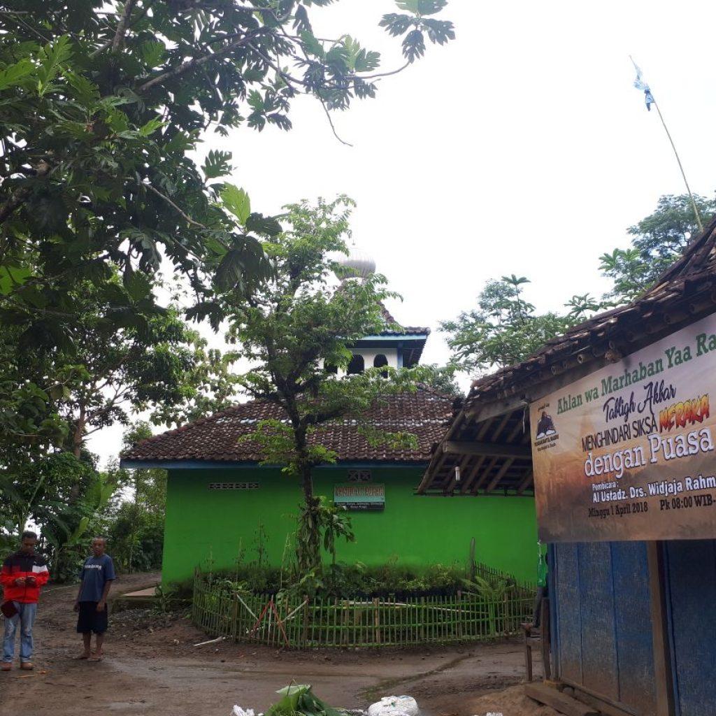 masjid At Taubah tempat diadakanya ternak bergilir