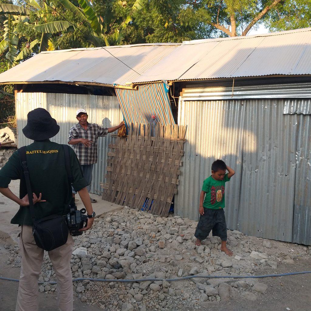 Lokasi Pembangunan HUNTARA Buat Korban Gempa