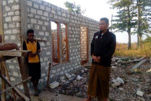 Tahap Terakhir Pembangunan Rumah Maullaf Ridawan Tanggu Randa
