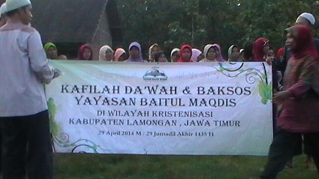 Kafilah Da'wah & Baksos  di Wilayah Kristenisasi Kabupaten Lamongan