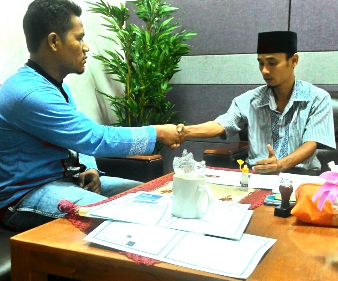 Alhamdulillah, Heriyanto Purba Bersyahadat Di Kota Batam