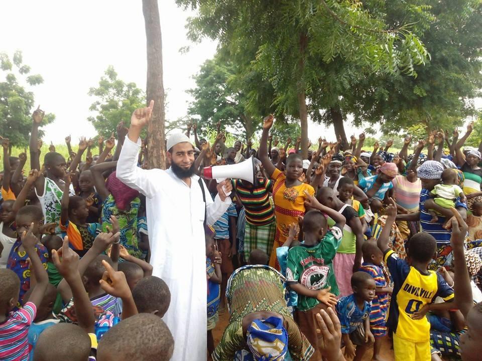 250an Orang Ghana Meingkrarkan Kalimat Syahadat