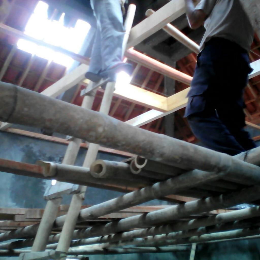 Pembangunan Musholla Di Dusun rawan pemurtadan