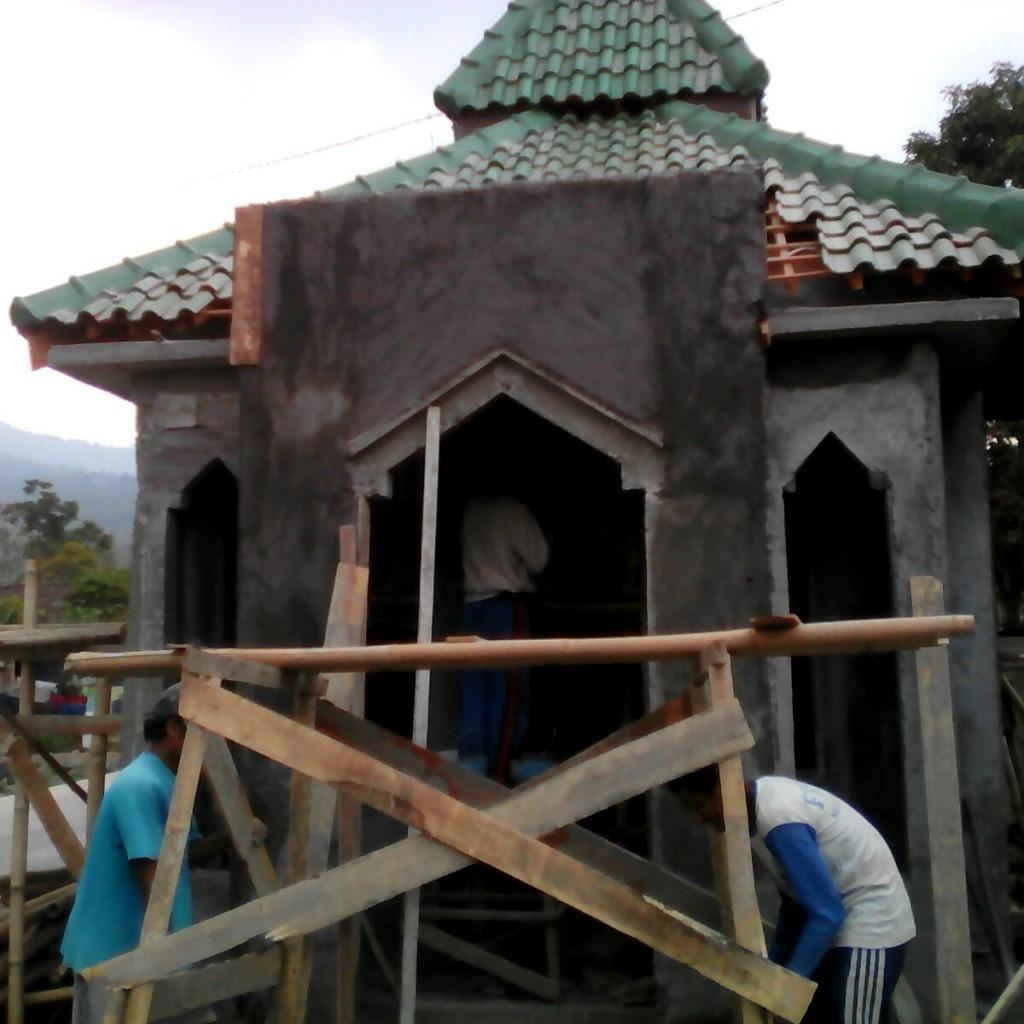 Pembangunan Musholla Di Dusun rawan pemurtadan 3