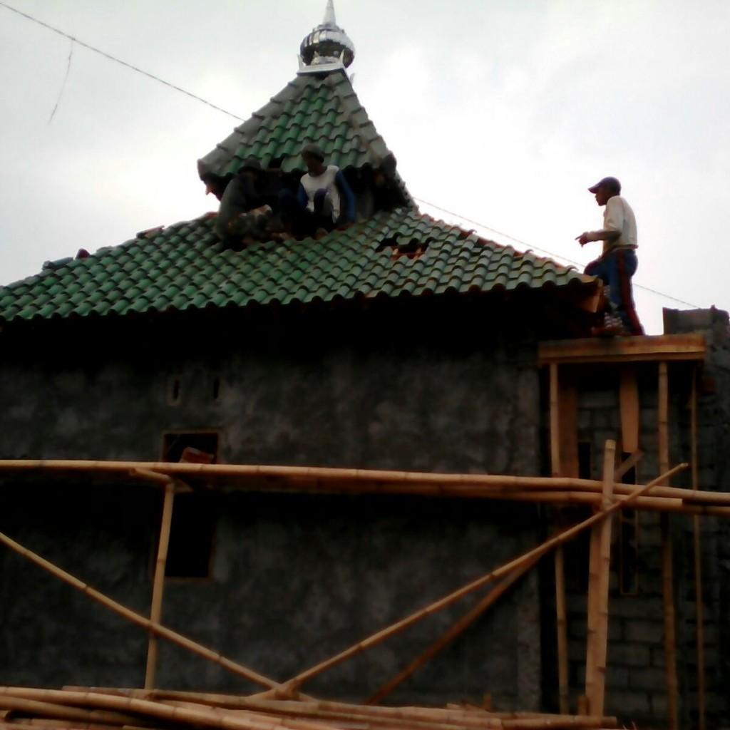 Pembangunan Musholla Di Dusun rawan pemurtadan 8