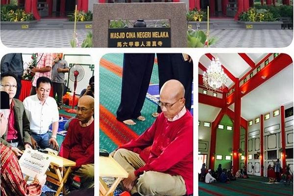 Puluhan Tahun Kaji Berbagai Agama, Tokoh Budha di Malaysia Masuk Islam