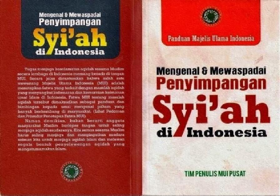 Sekte Syi'ah Rafidhah Sesat Menyesatkan Penjelasan Tentang Fatwa MUI