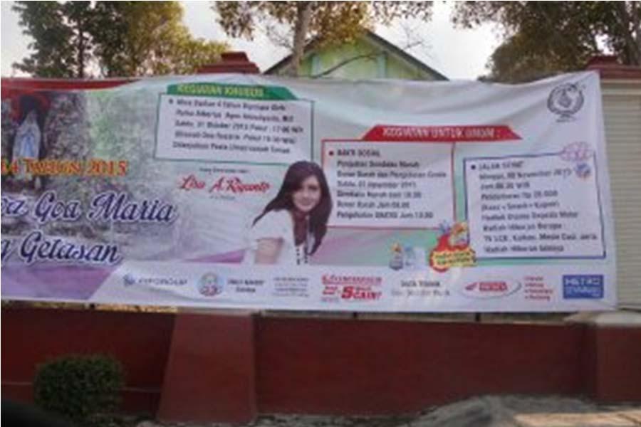 Cari Simpati Umat Islam Peringati Hari Jadi Goa Maria Adakan Sembako Murah & Pengobatan Gratis