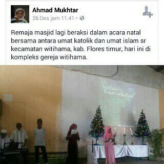 Adzan Diiringi Lagu Natal Musibah Aqidah Umat Islam