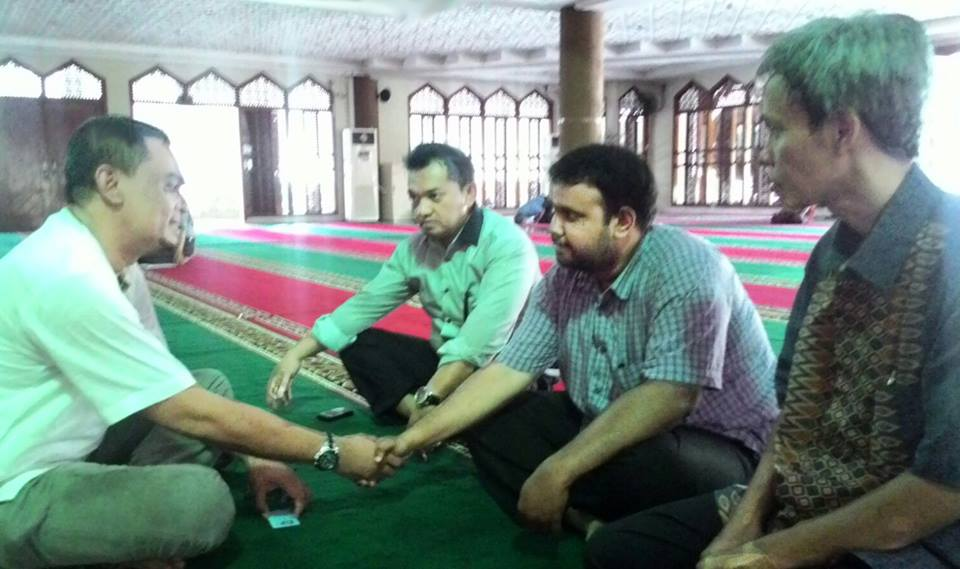 Subhaanallah, Willie Masuk Islam Di Masjid MPR RI Setelah Pelajari Seluruh Agama