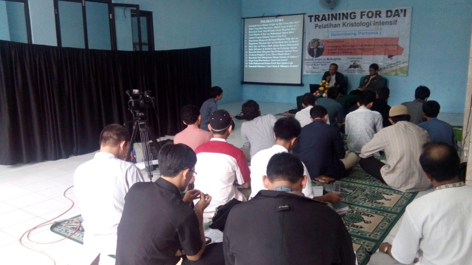 Alhamdulillah, Pelatihan Kristologi Perdana Sukses ( Edisi Februari )
