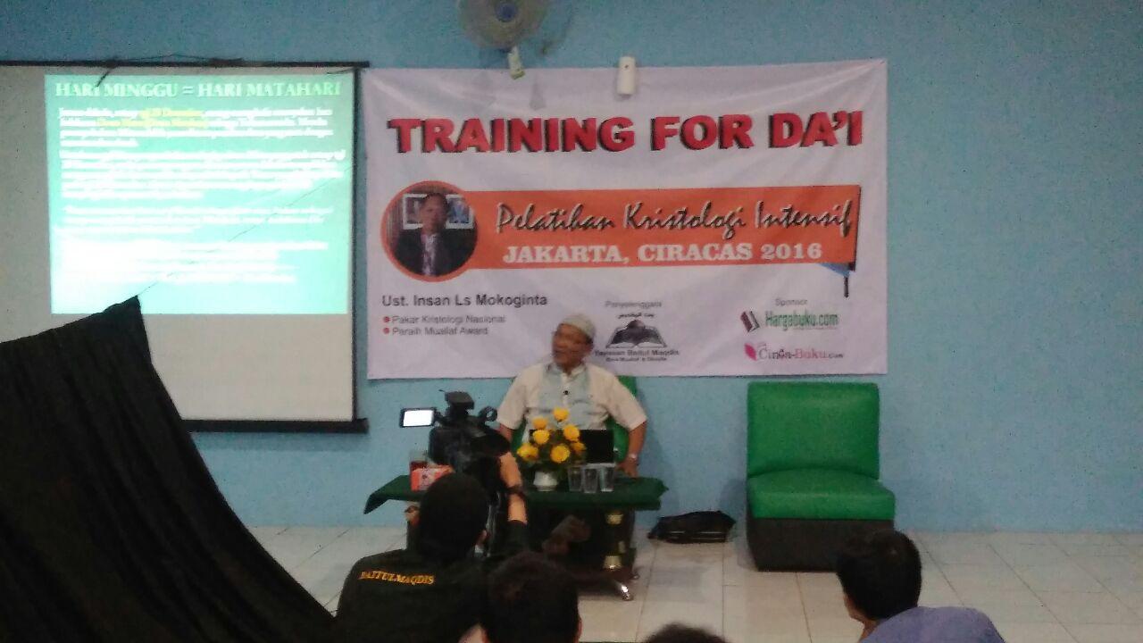 Dauroh YBM Kristologi Intesif Jakarta Edisi November