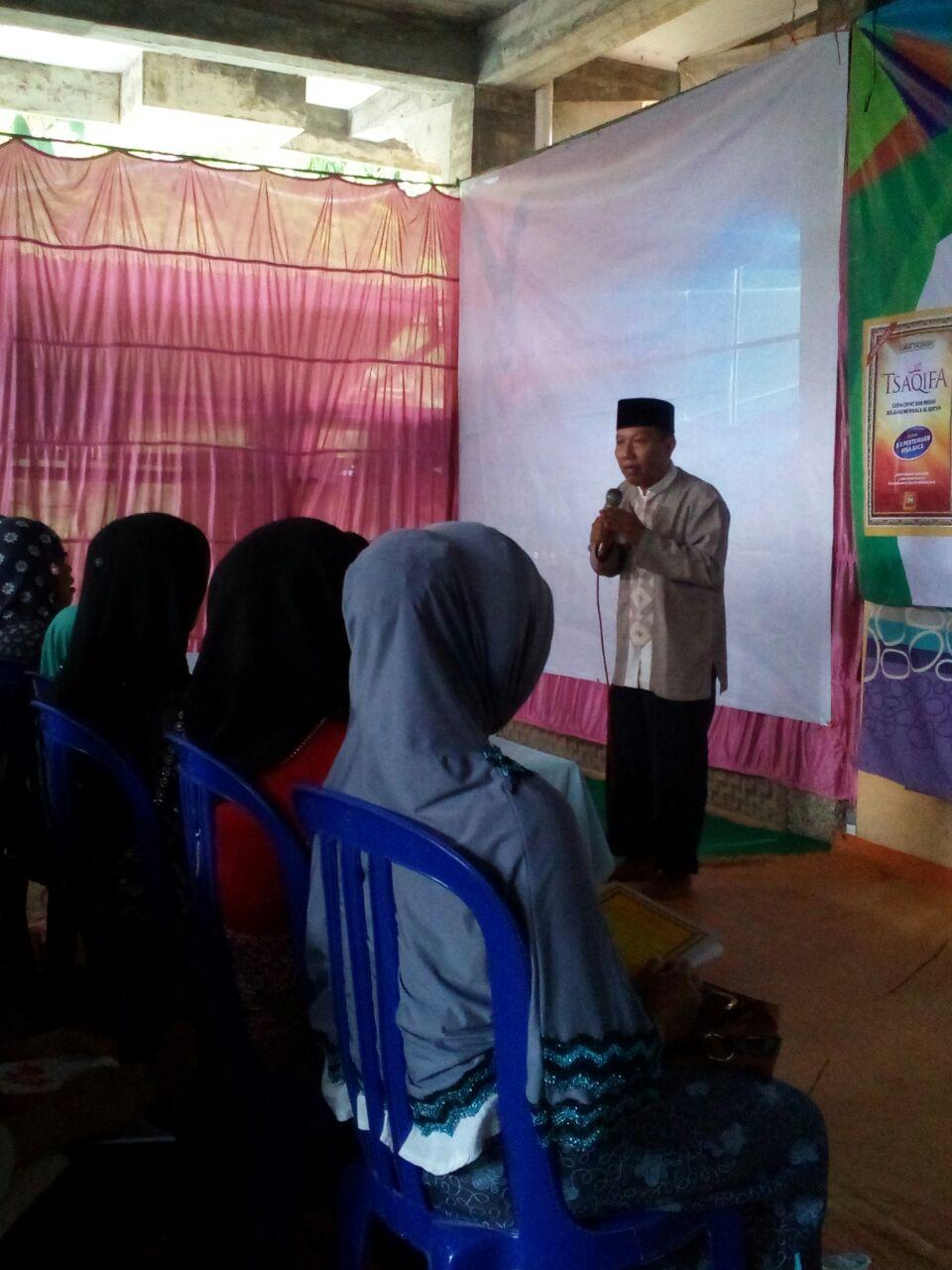 Program Belajar Cepat Baca Al Qur'an Untuk Muallaf Budha di Menoreh