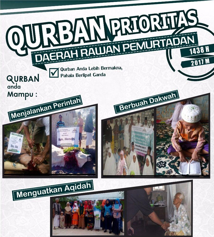QURBAN PRIORITAS DAERAH RAWAN PEMURTADAN 1438 H
