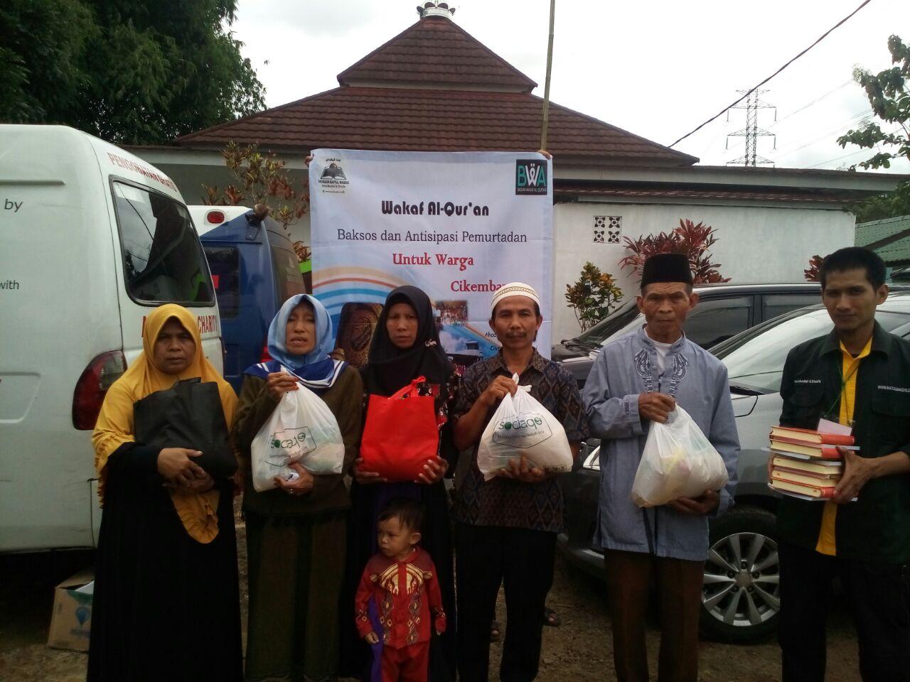 Bakti Sosial & Antisipasi Pemurtadan Di Cikembar, Sukabumi