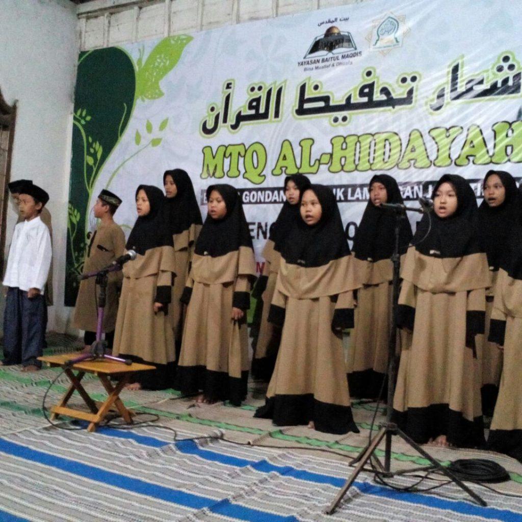 Pentas Tampil Acara syiar Tahfidz