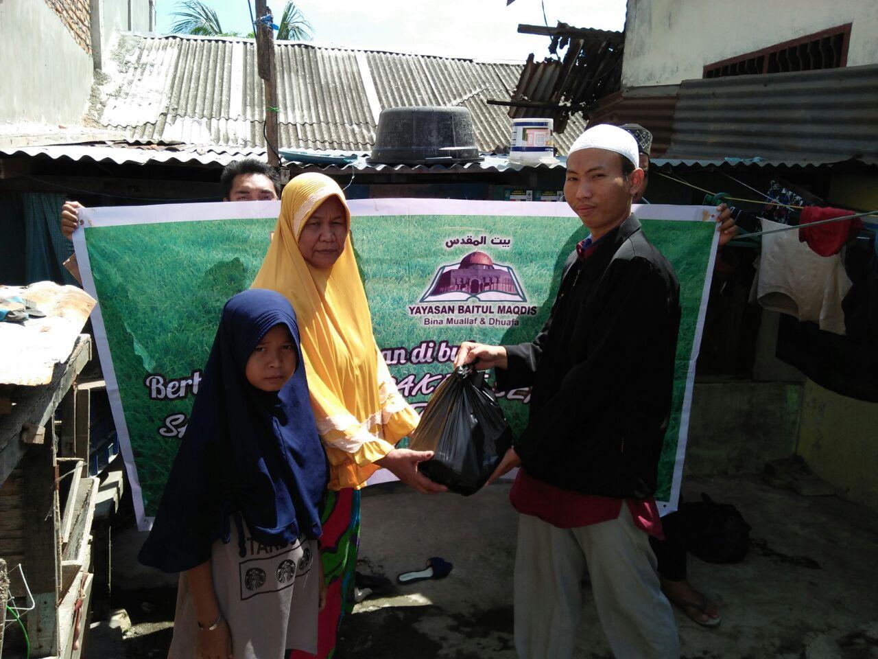 Berkah Romadhon Bersama Muallaf, Yatim dan Dhuafa di Sumatra Utara