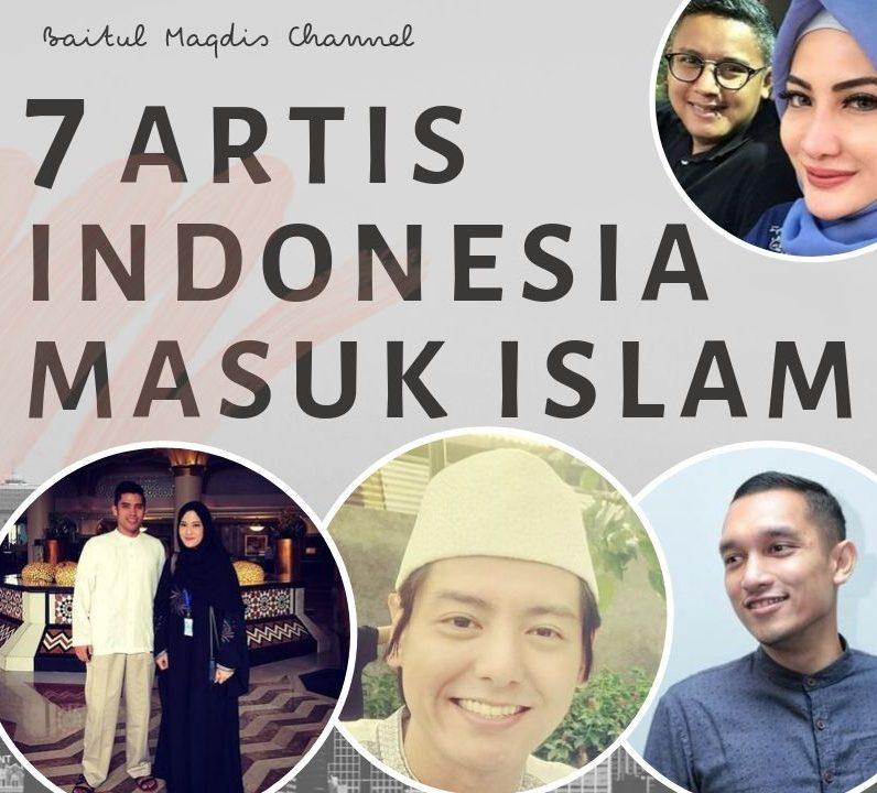 7 Artis Indonesia Terpopuler Masuk Islam