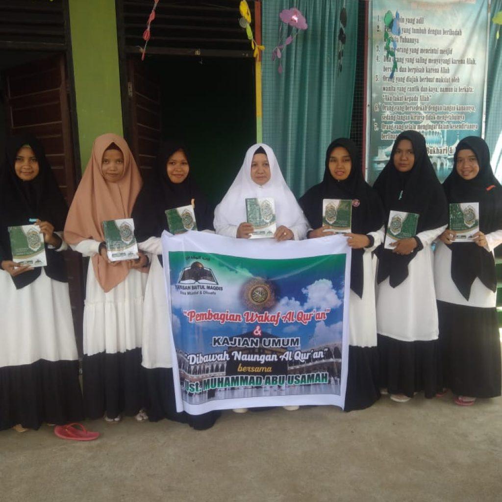Wakaf Qur'an di Aceh