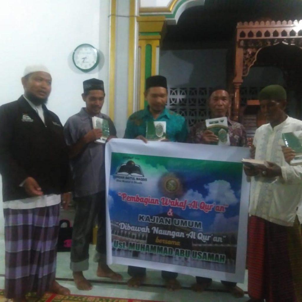 Wakaf Qur'an di Aceh 2