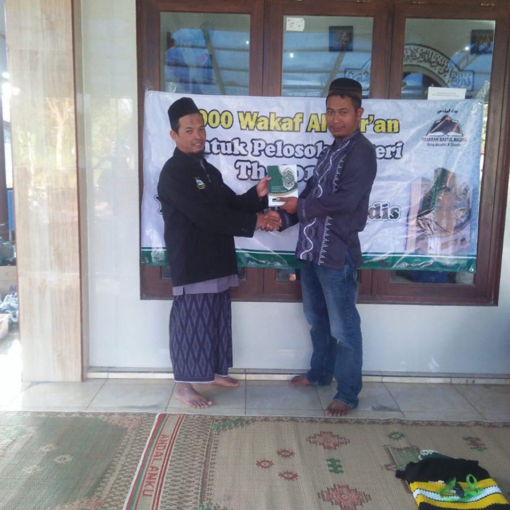 Wakaf Qur'an di Getasan-Wilayah Kristenisasi 2