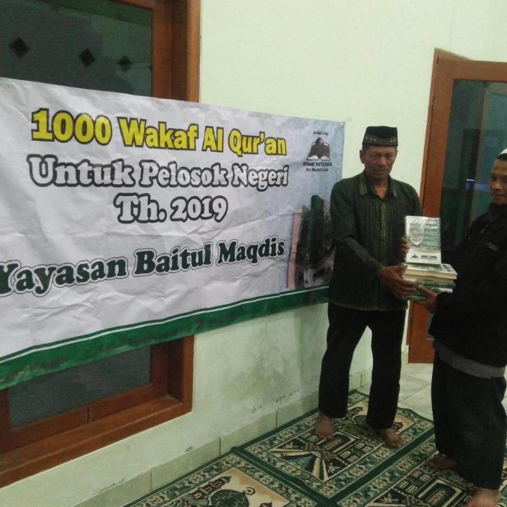 Wakaf Qur'an di Getasan-Wilayah Kristenisasi 3