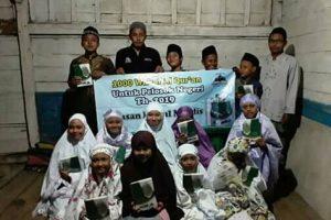 Dokumentasi Serah Terima Wakaf Al-Qur'an Tahap 1